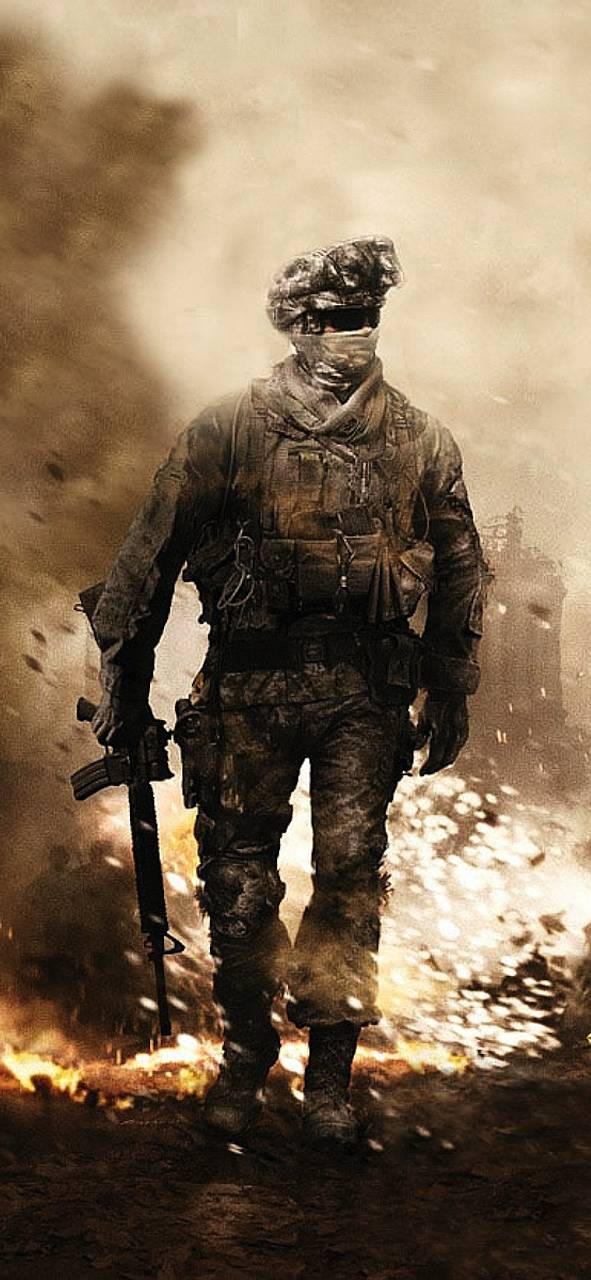 Call Of Duty Mobile Wallpaper Hd Call Of Duty Modern Warfare 2 Iphone 591x1280 Wallpaper Teahub Io
