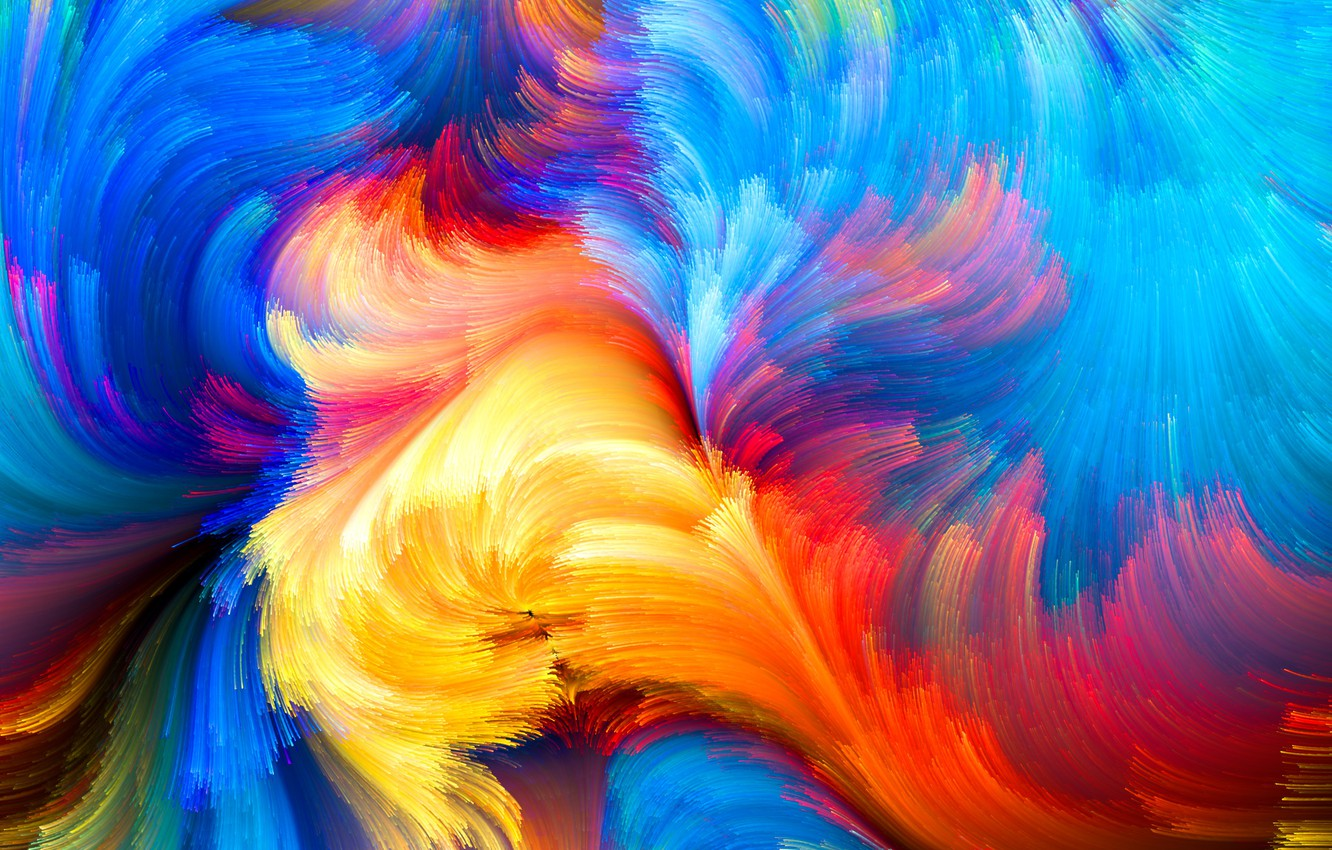 Photo Wallpaper Colors, Colorful, Abstract, Rainbow, - Ipad Wallpaper Color Splash - HD Wallpaper