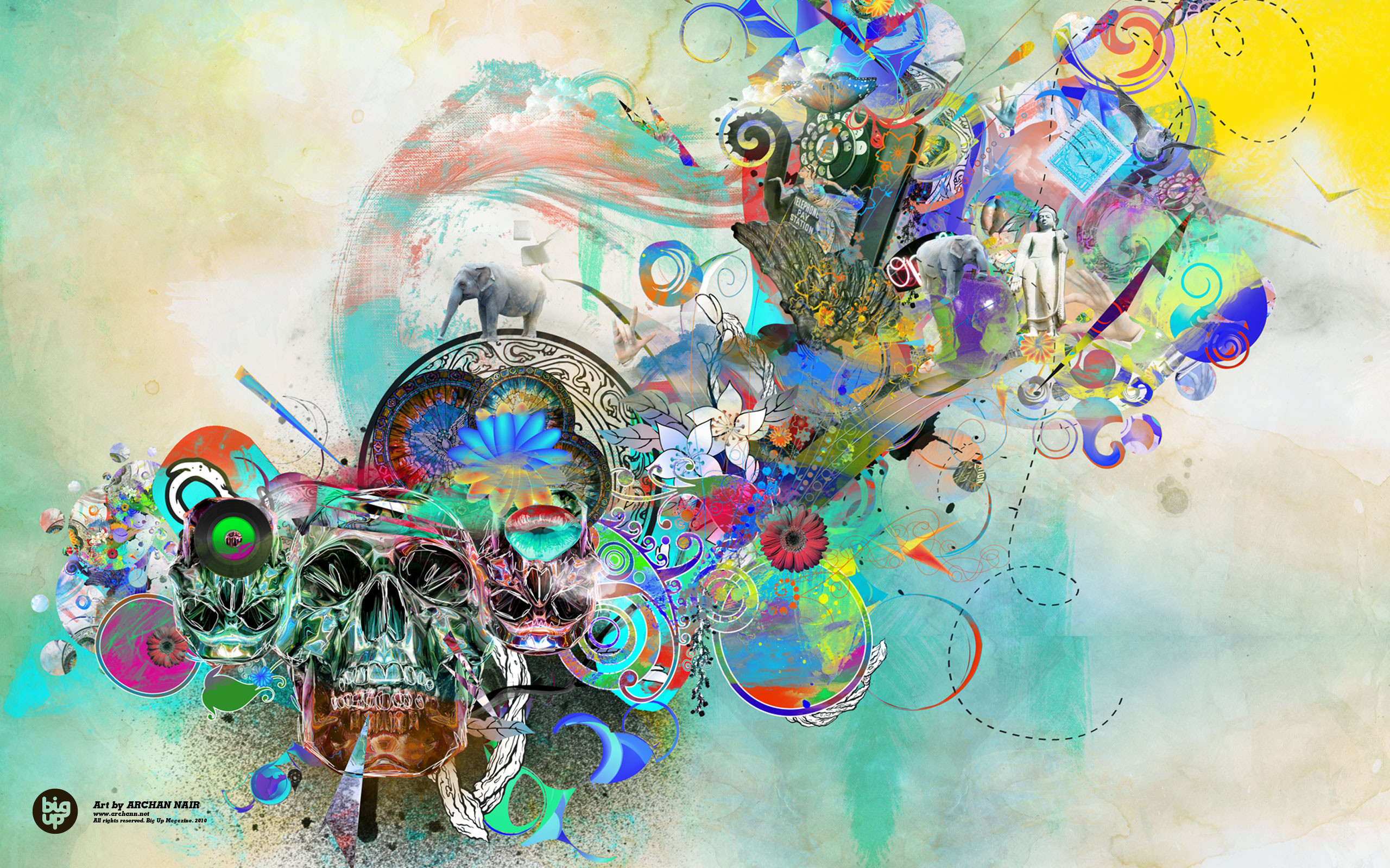 2560x1600, 21 Download Colorful History Abstract Art - Art Wallpaper Download - HD Wallpaper