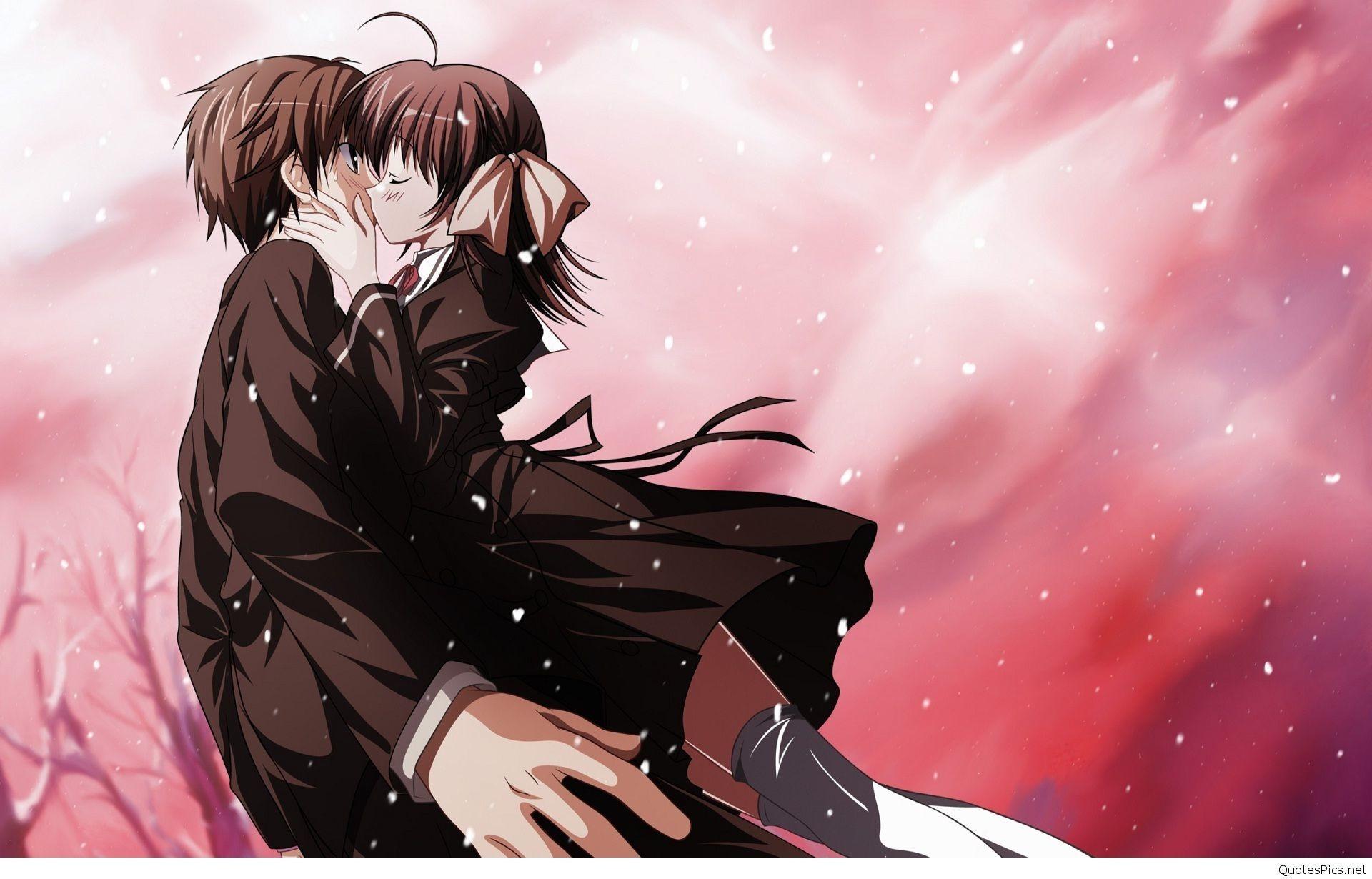 Cute Anime Couple Wallpaper A Data Src W Full 8 8 2 152054 Romantic Anime Wallpaper Hd 1920x1230 Wallpaper Teahub Io