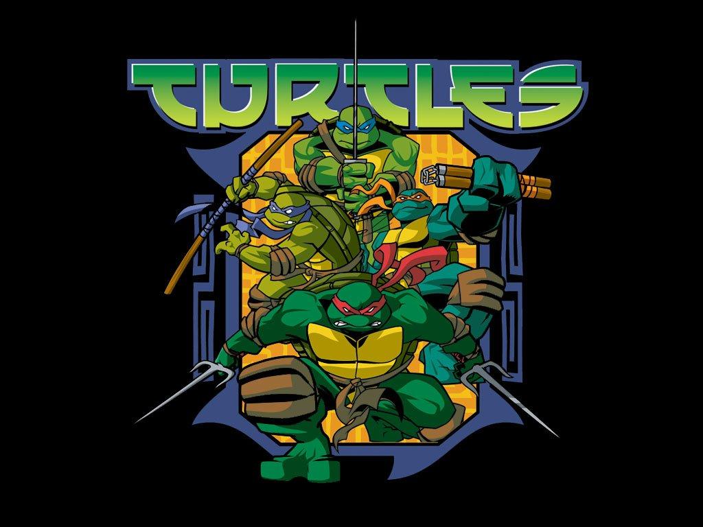 Teenage Mutant Ninja Turtles Wallpaper 1024 X - Teenage Mutant Ninja Turtles 2003 - HD Wallpaper