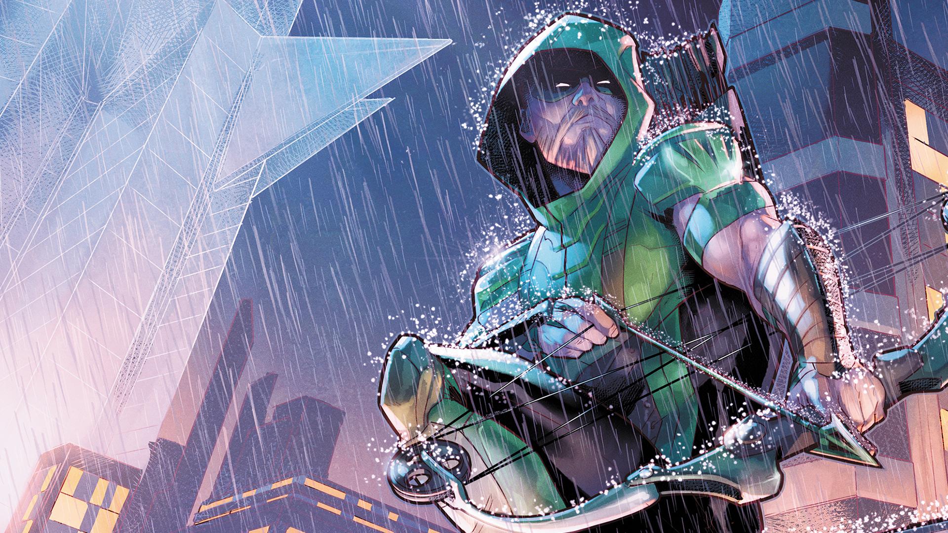 Green Arrow Rebirth - HD Wallpaper