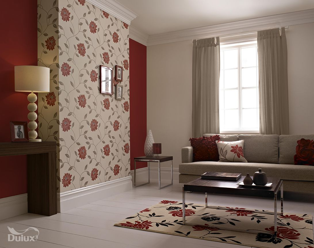 Colour On Pinterest Dulux Paint Feature Walls And Paint - Ideas For Living Room Feature Wall - HD Wallpaper