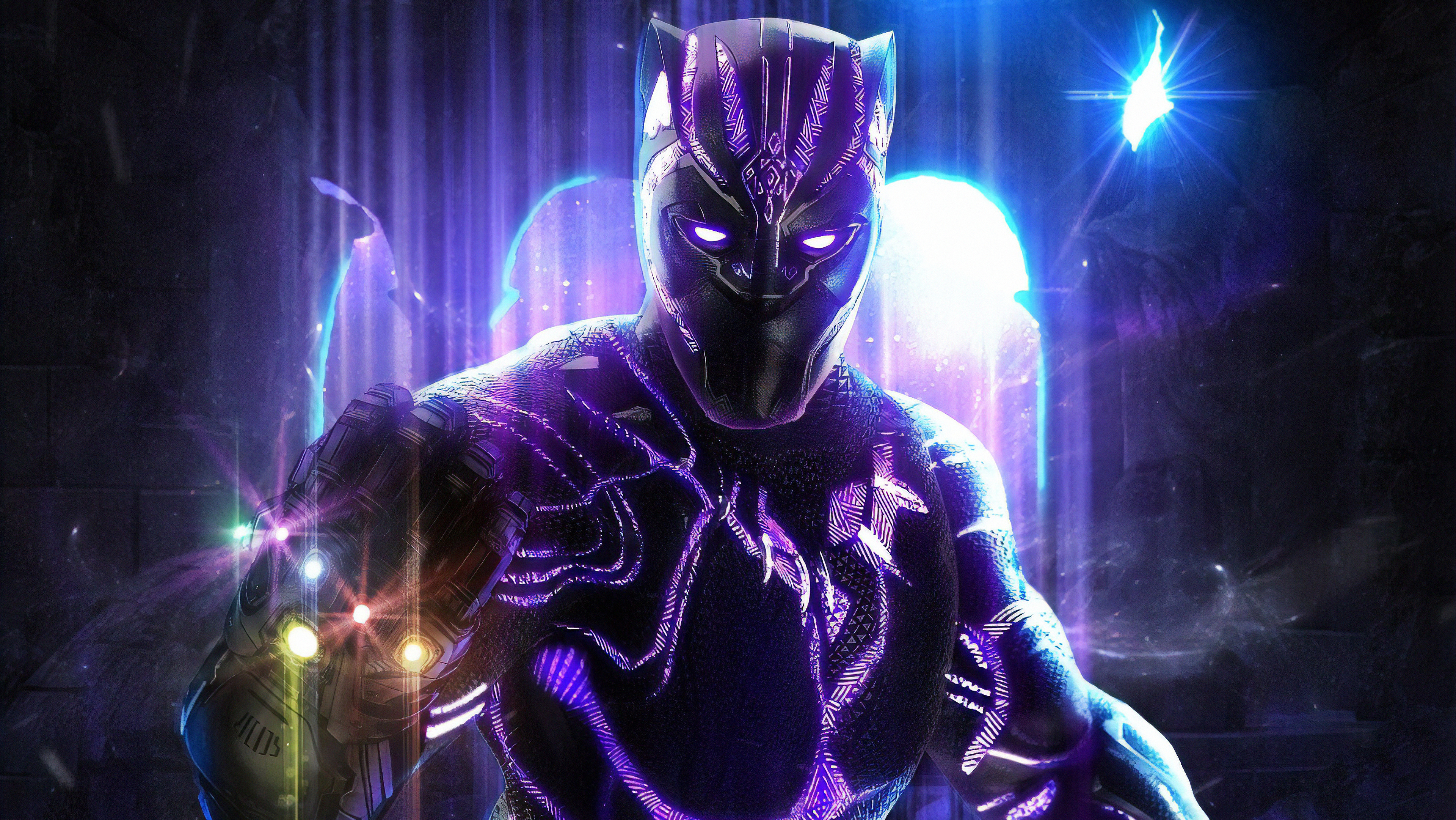 Ultra Hd Black Panther 3840x2161 Wallpaper Teahub Io