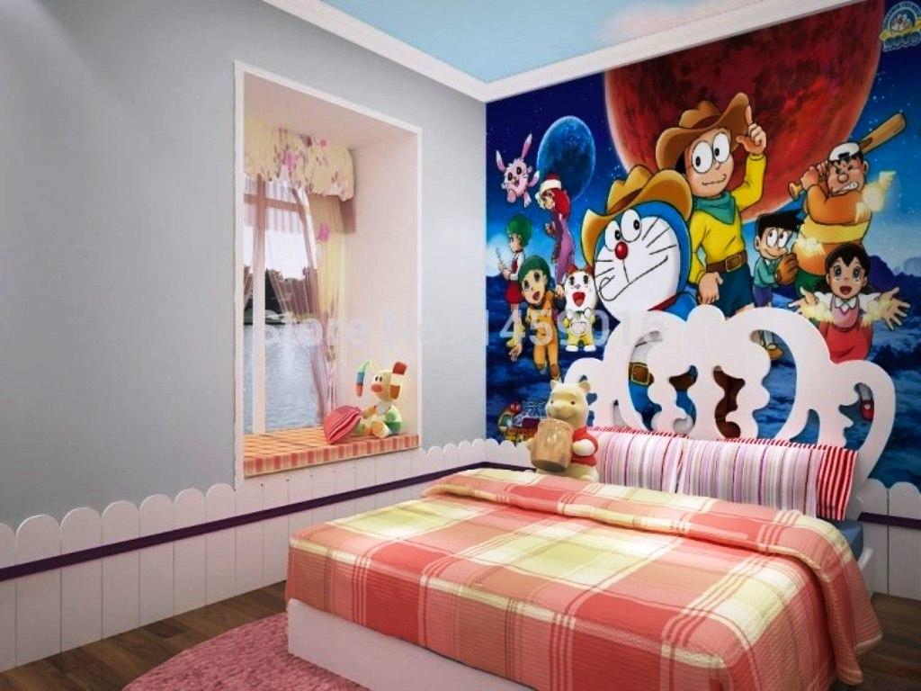 Contoh Wallpaper Dinding Kamar Tidur Anak - HD Wallpaper