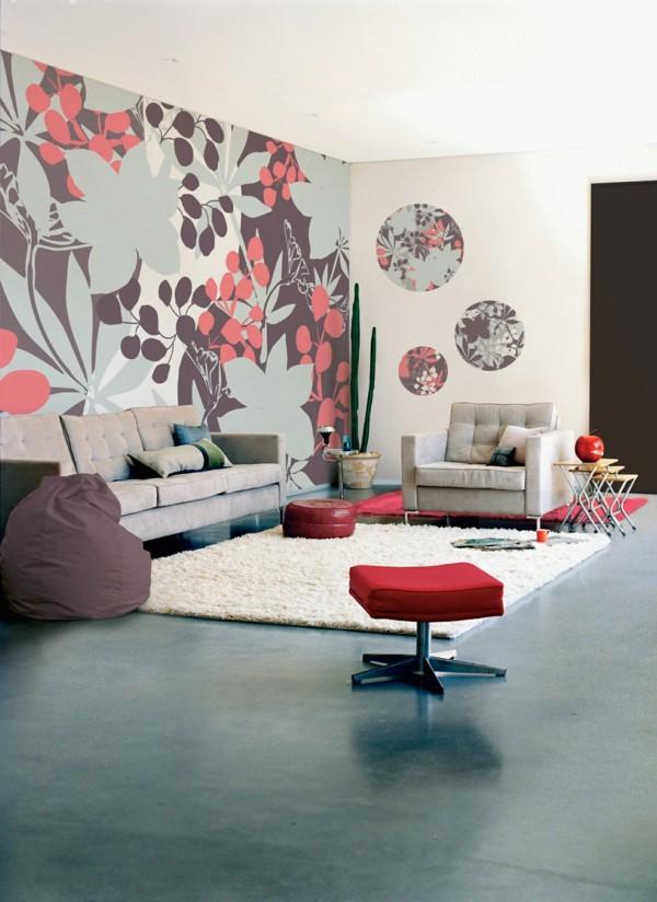 Gambar Desain Wallpaper Dinding Ruang Tamu Minimalis - Wallpaper - HD Wallpaper
