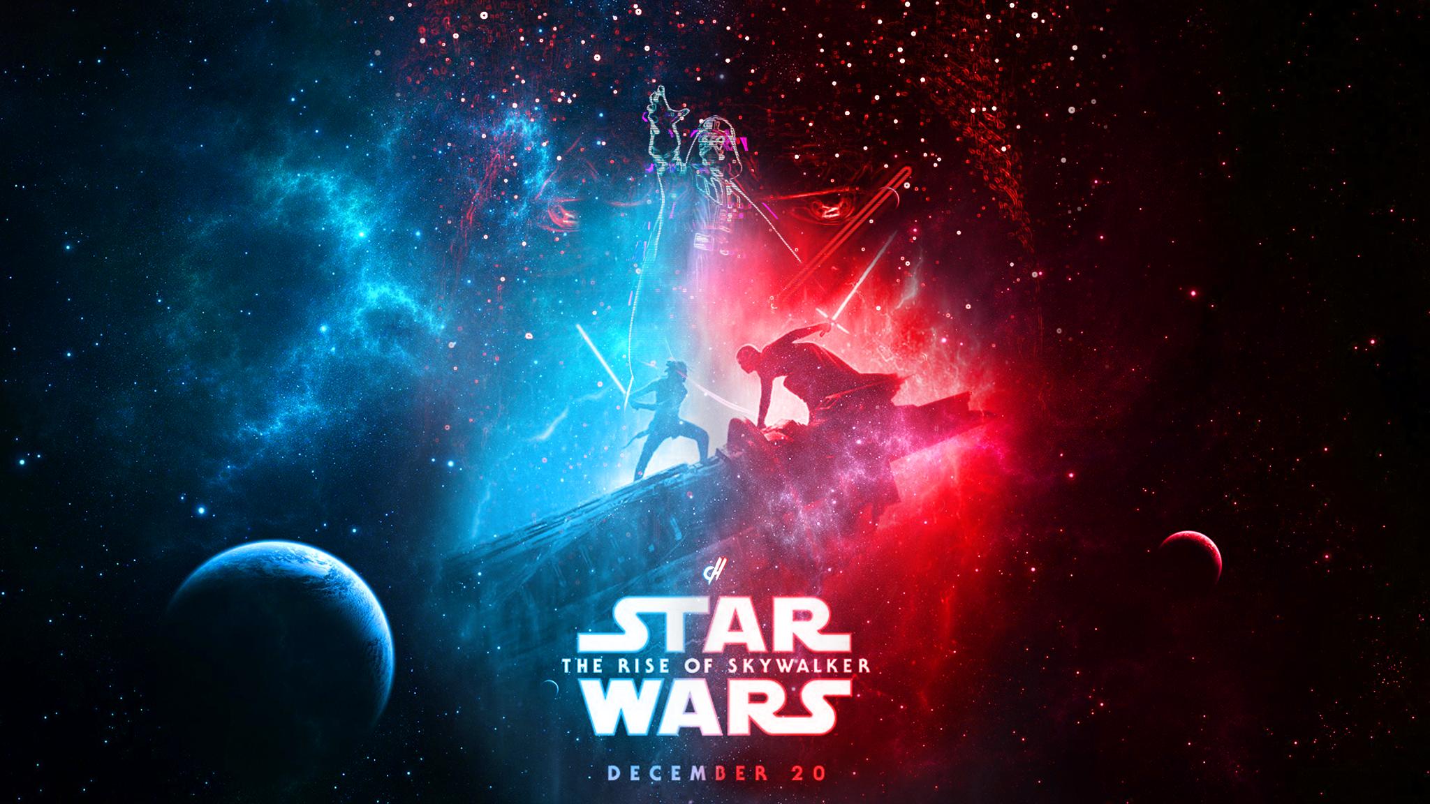 Star Wars The Rise Of Skywalker 2048x1152 Wallpaper Teahub Io