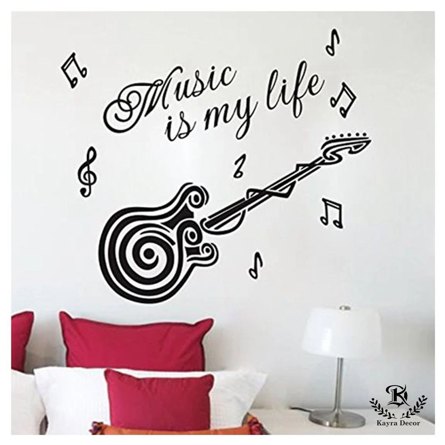 Music Quotes With Guitar - HD Wallpaper