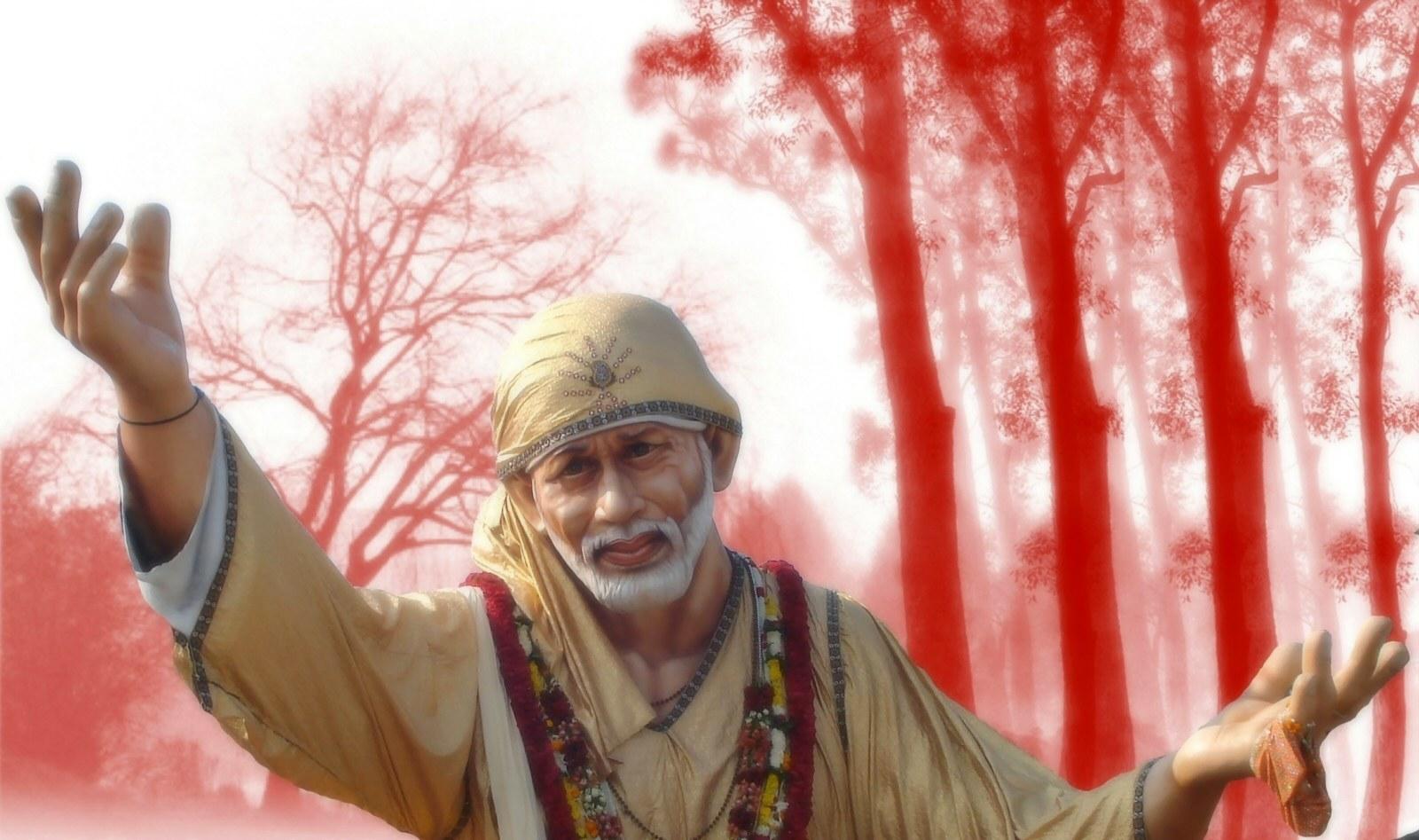 Free Shirdi Saibaba Wallpapers Real Life Sai Baba 1600x947 Wallpaper Teahub Io