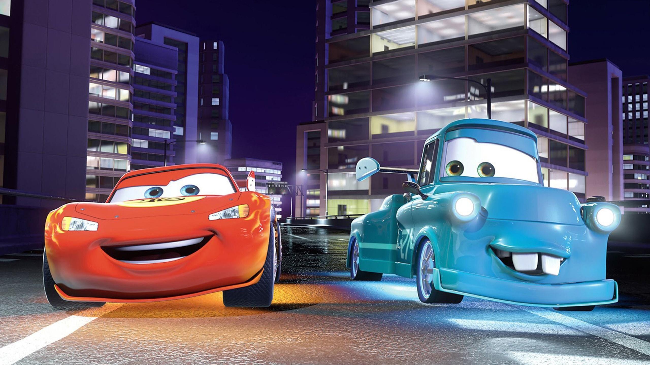 Cars Cartoon Background Hd 2560x1440 Wallpaper Teahub Io