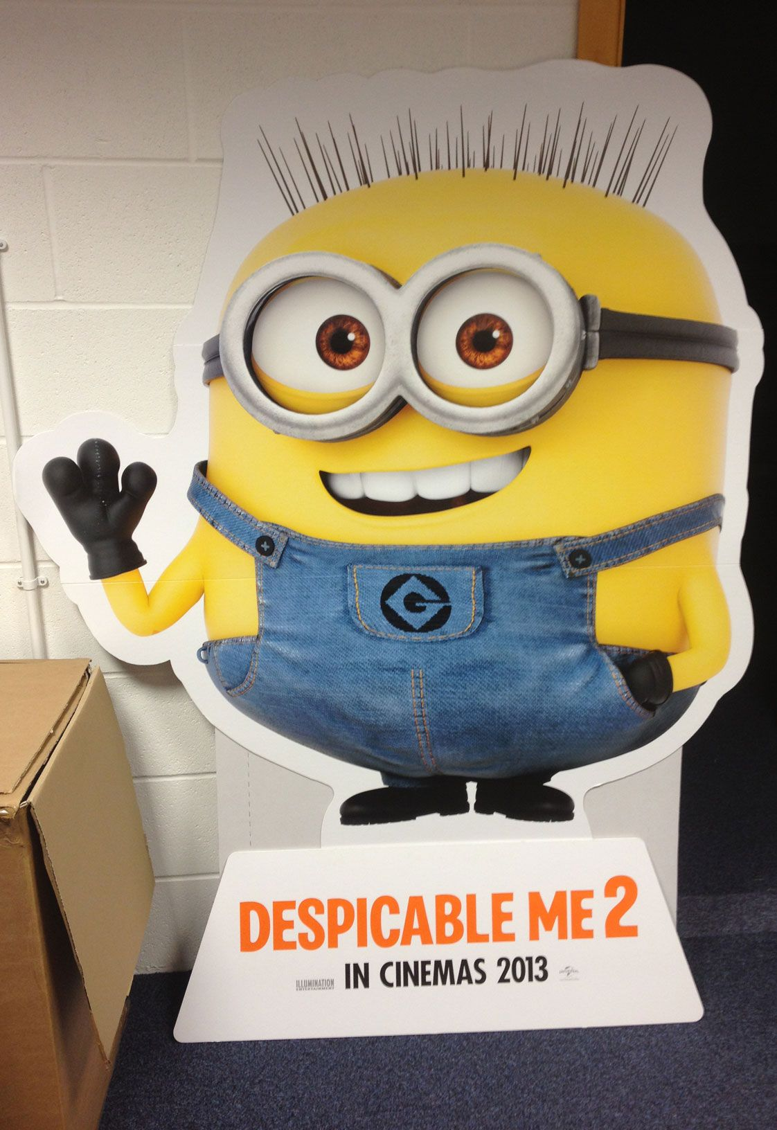 Despicable Me 2 Jerry - HD Wallpaper