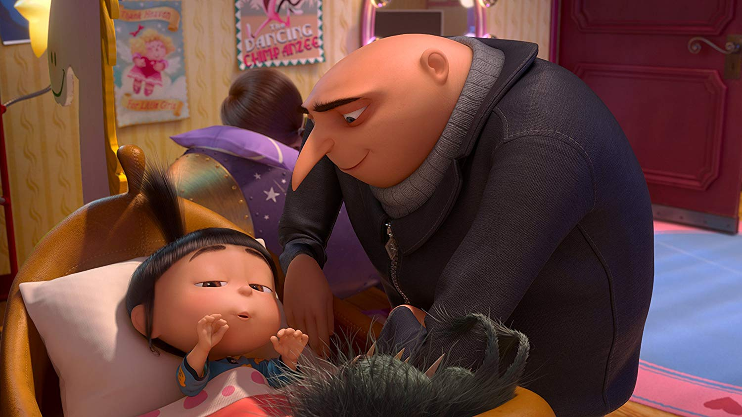 Despicable Me Gru And Adnes - HD Wallpaper
