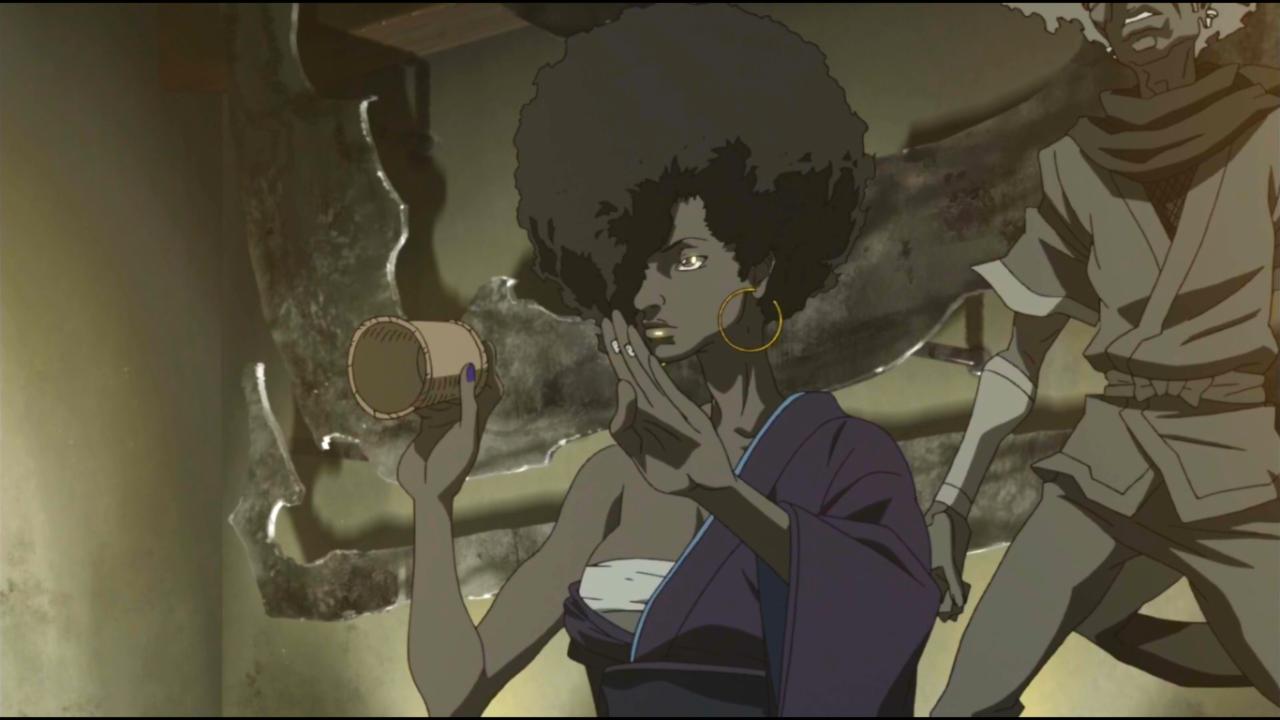 Afro Samurai Resurrection Wallpaper At98562 Black Afro Anime Characters 1280x720 Wallpaper Teahub Io