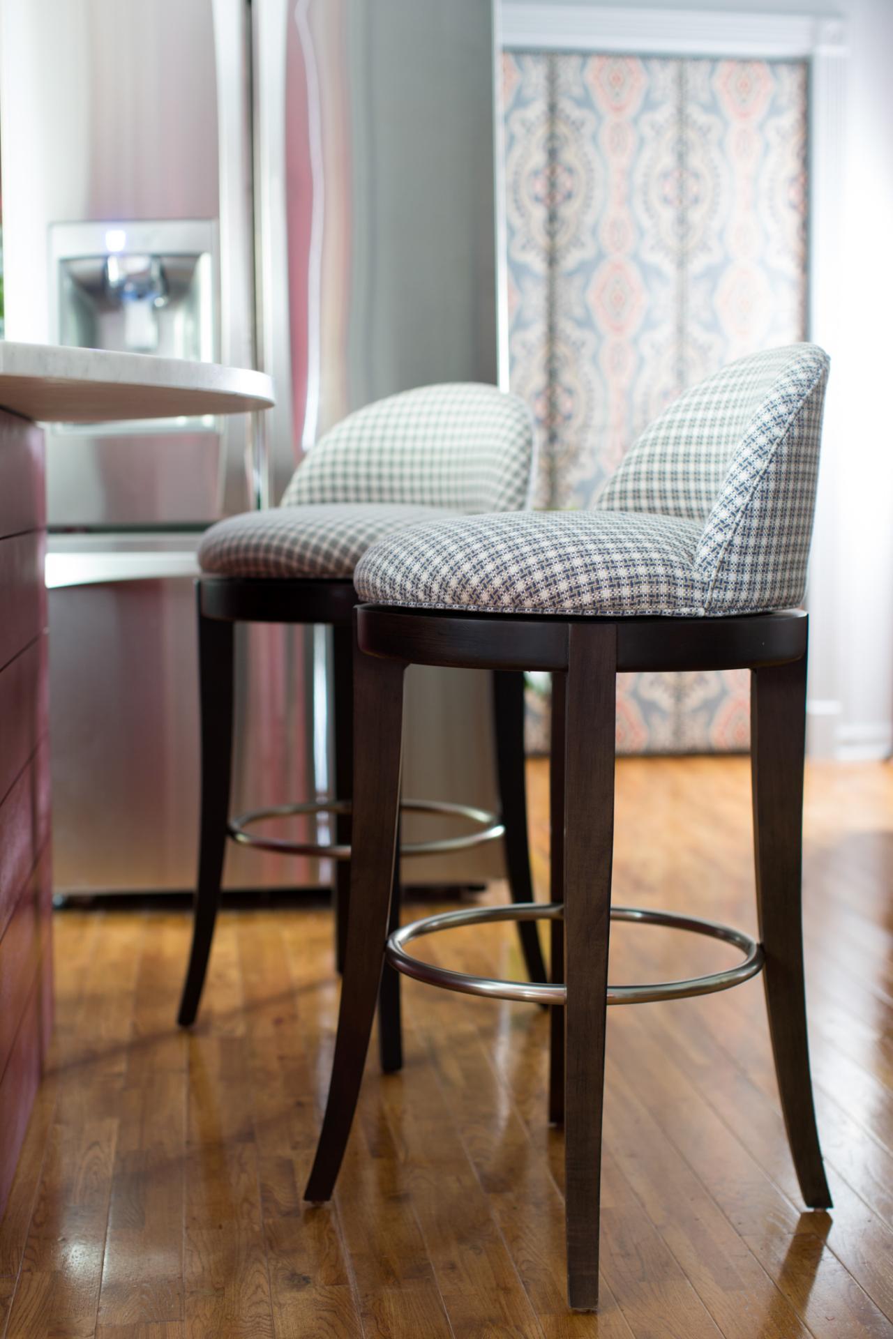 Upholstered Restoration Hardware Bar Stools On Lowes   Bar Stool ...