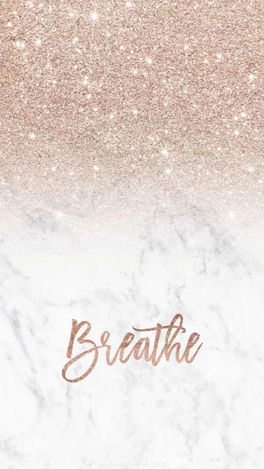 Rose Gold Aesthetic Wallpaper Iphone - HD Wallpaper