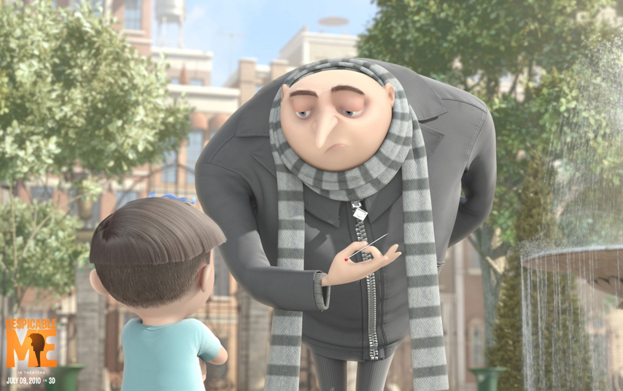 Bad Man With Needle Wallpapers - Gru Despicable Me - HD Wallpaper