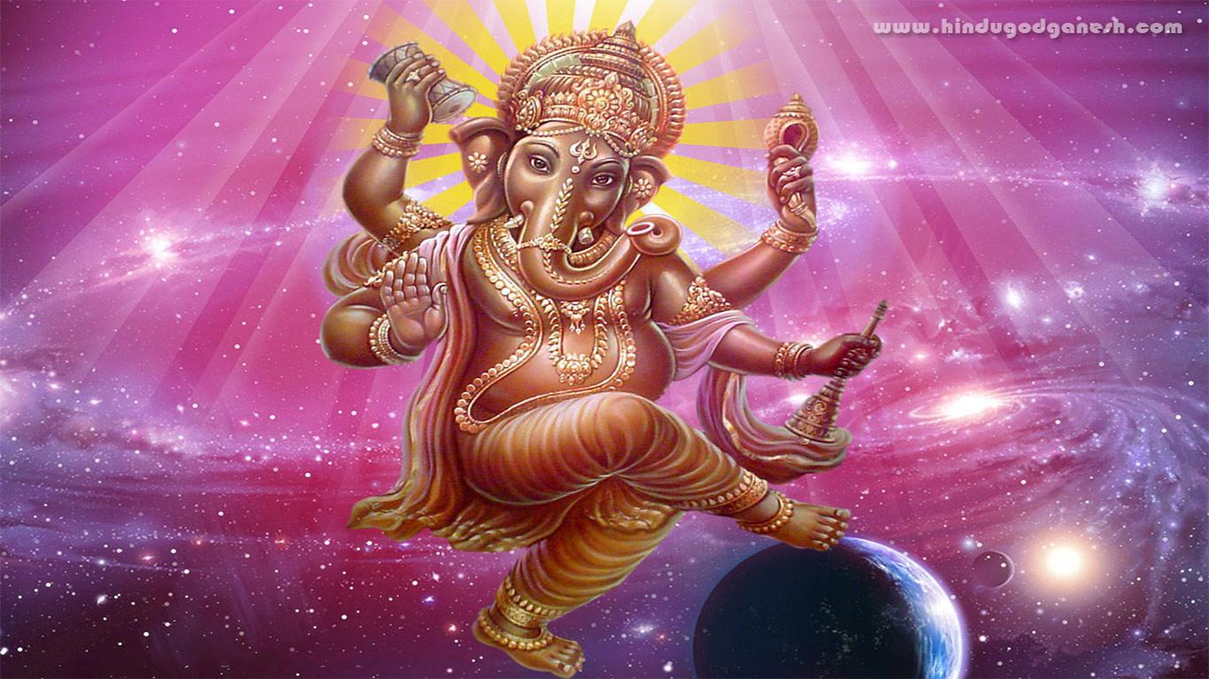 God Ganesh Hd Wallpaper - Ganesha Hd Desktop God - HD Wallpaper