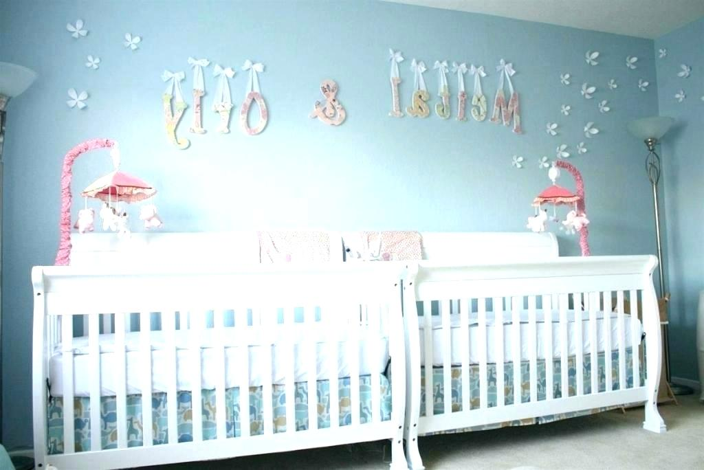 Cute Baby Boy Nursery Baby Boy Rooms Themes Baby Boy - Boy And Girl Twin Baby Room Themes - HD Wallpaper