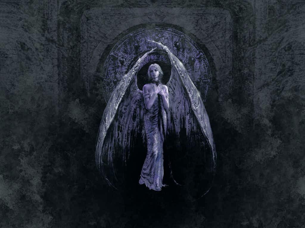 Dark Angel - Depression Wallpaper Hd Sad Aesthetics - HD Wallpaper