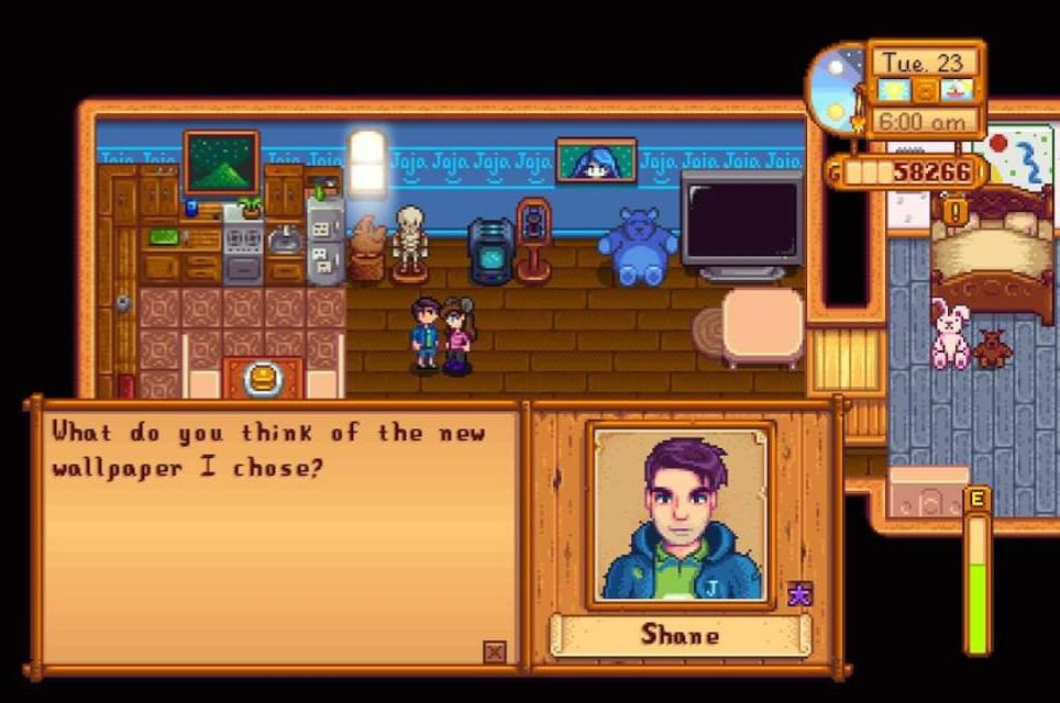 Stardew Valley Shane And Charlie - HD Wallpaper