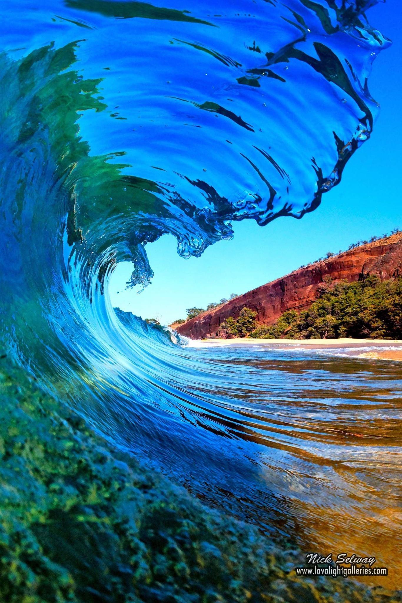 Wave Water Nature Travel Ocean Sea Outdoors Underwater - Hawaii Waves - HD Wallpaper
