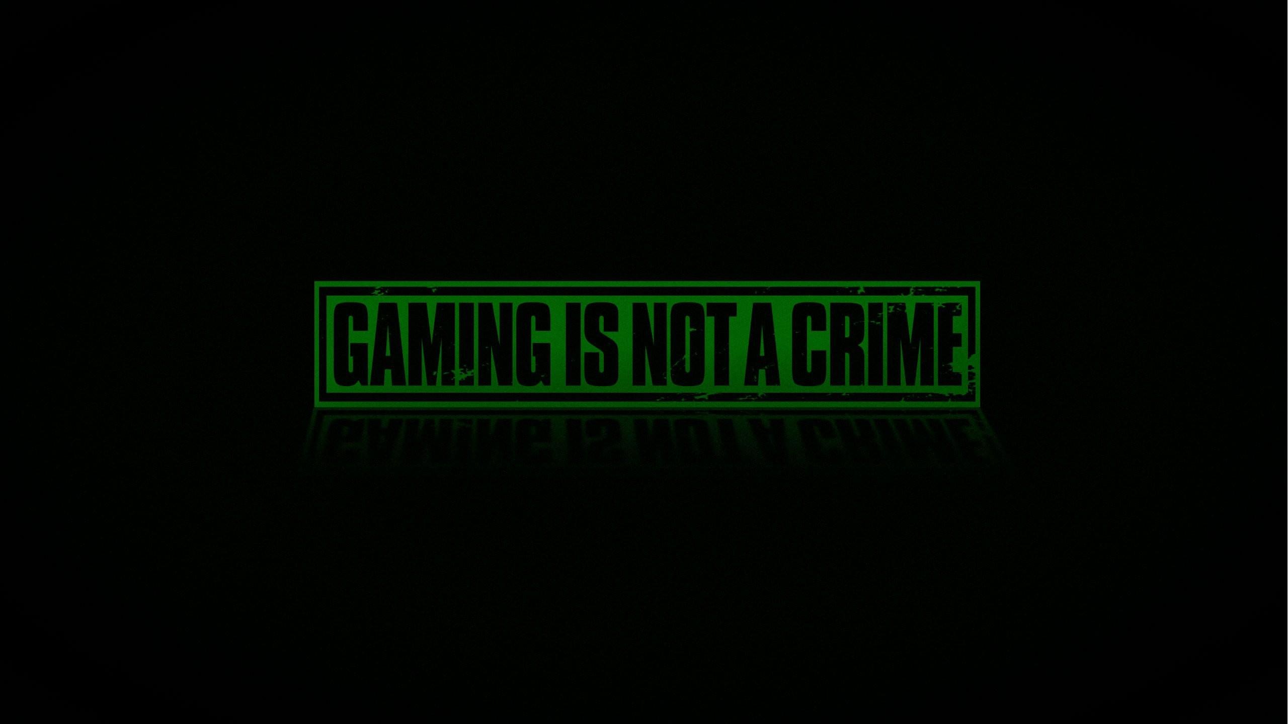 Game Is Not A Crime 2560x1440 Wallpaper Teahub Io