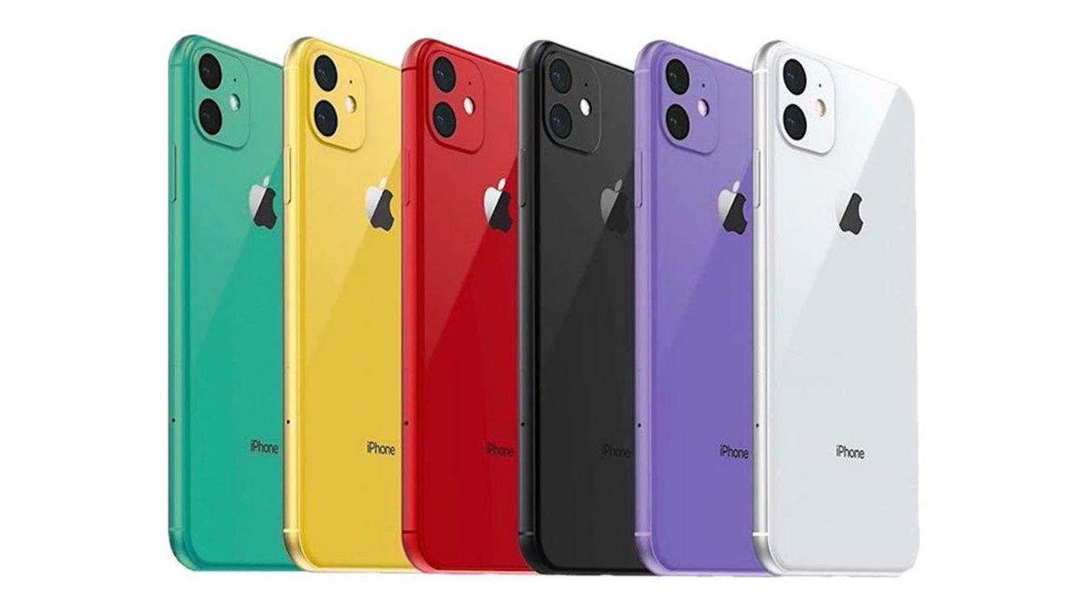 Iphone 11 Colors 2019 - HD Wallpaper