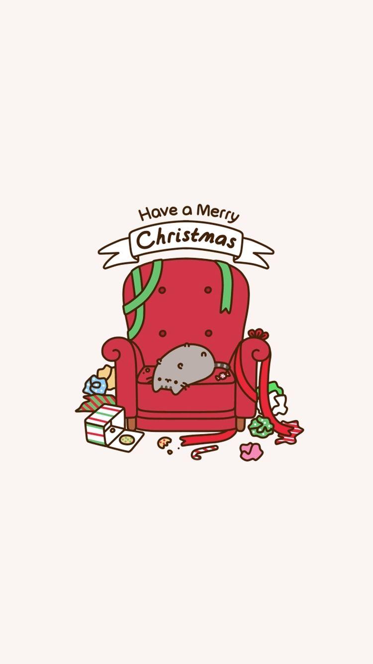 Pusheen Christmas Wallpaper Phone ...