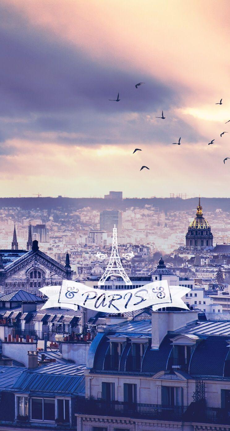 Iphone Paris Wallpaper Quotes - HD Wallpaper