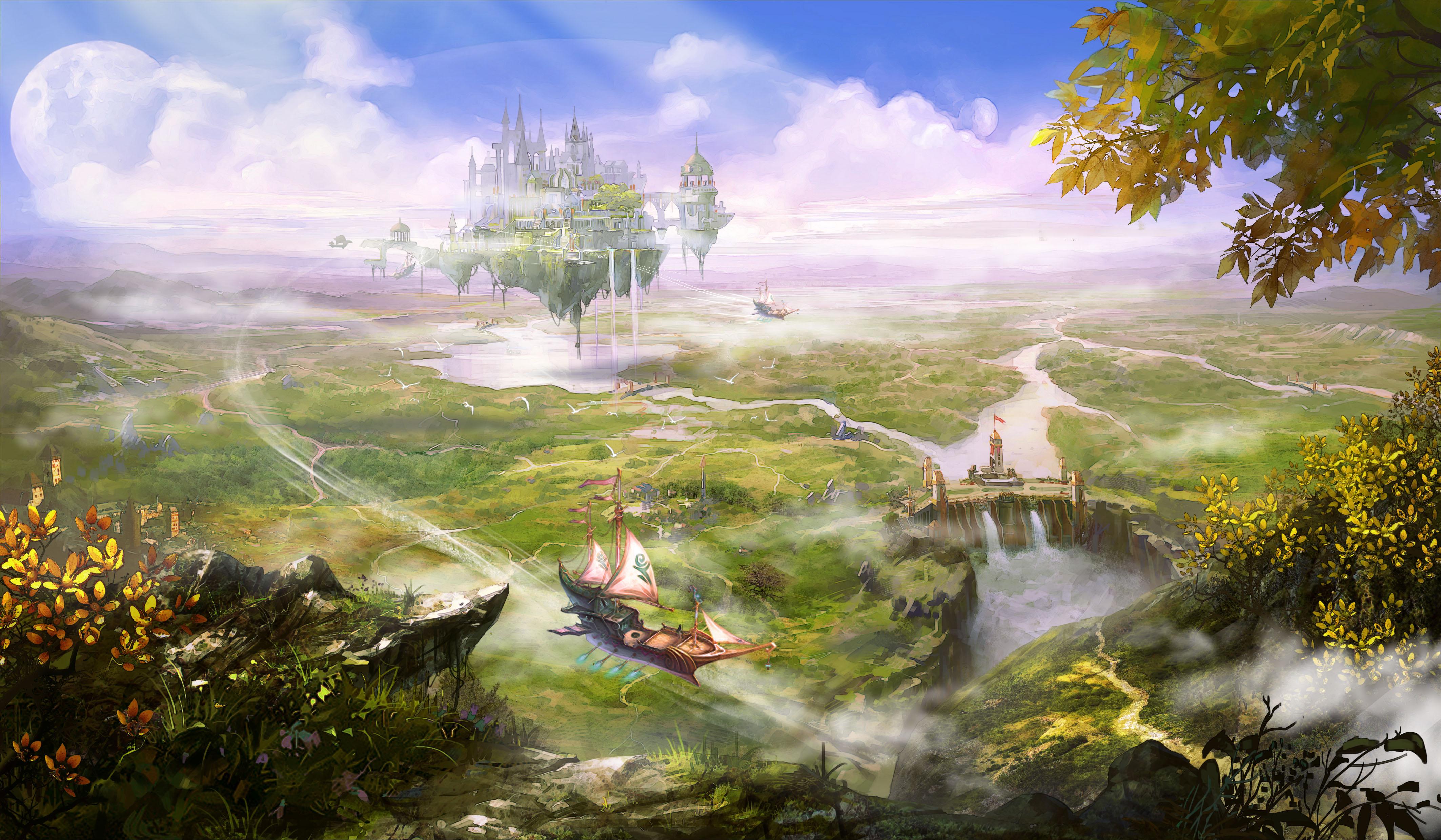 Fantasy Scenery Nature 4252x2480 Wallpaper Teahub Io