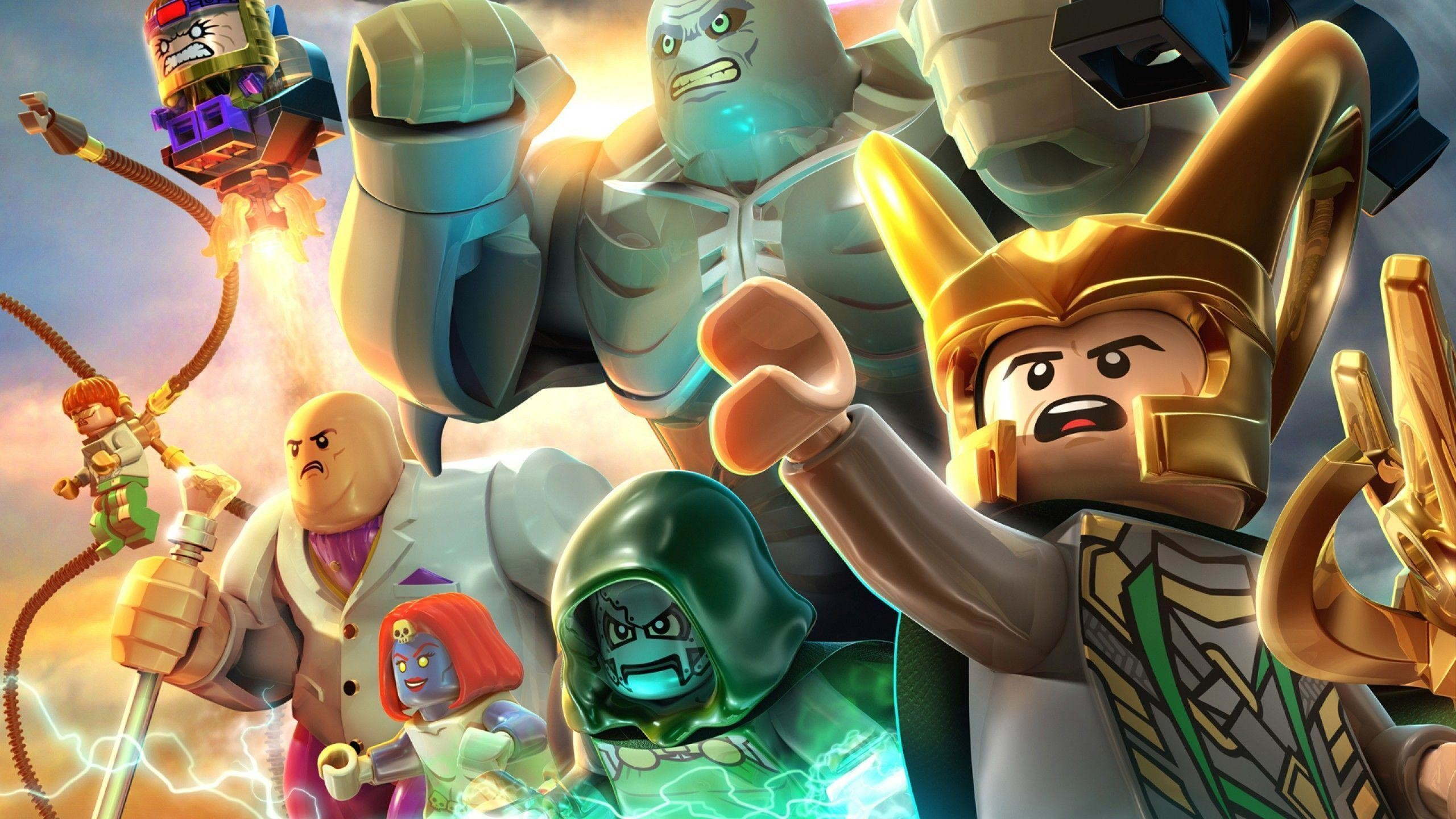 2560x1440, Lego Marvel Super Heroes Hd Wallpapers   - Lego Super Heroes 2 - HD Wallpaper