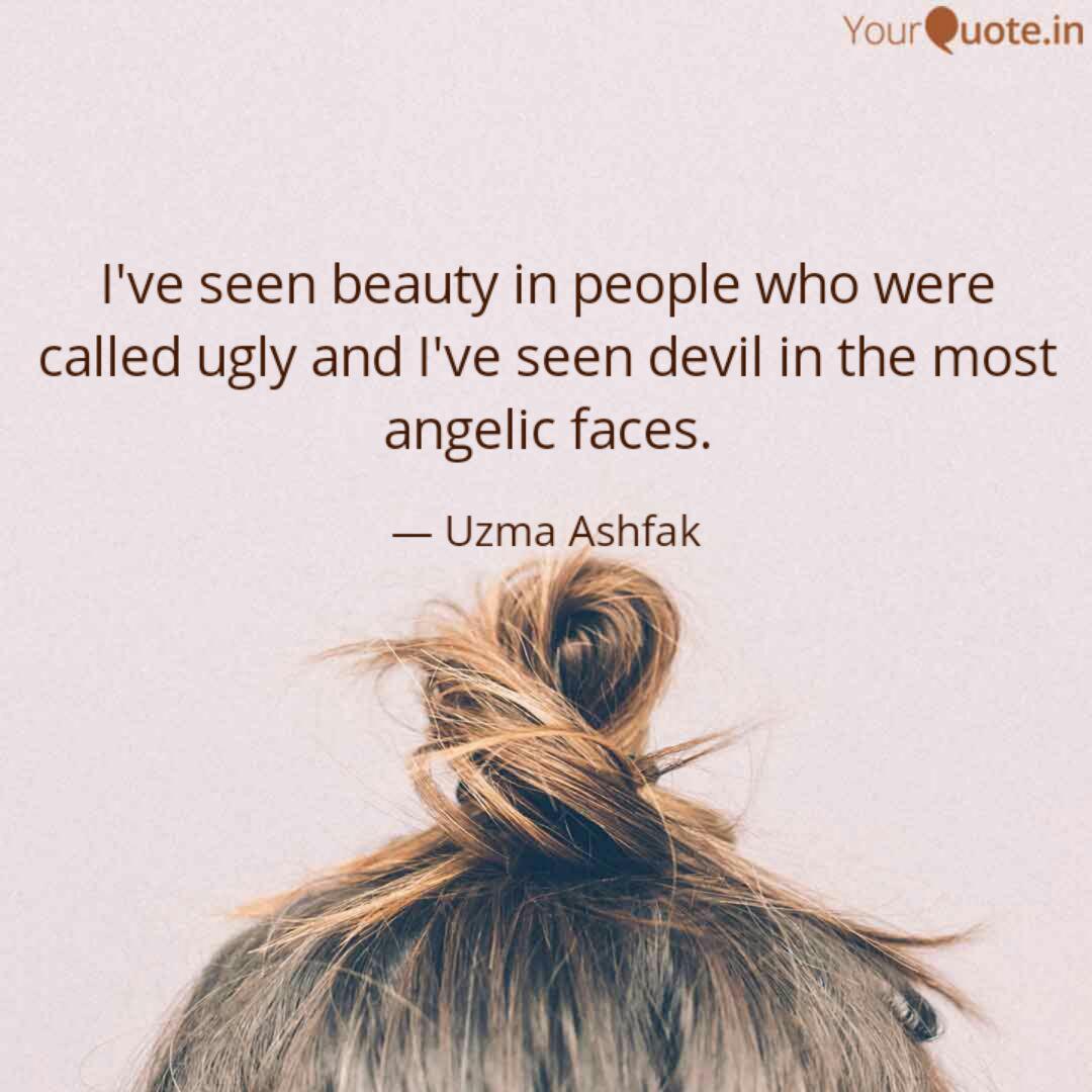 I Ve Seen Beauty People Who Called Ugly I Ve Seen Devil - People Make You Fool - HD Wallpaper