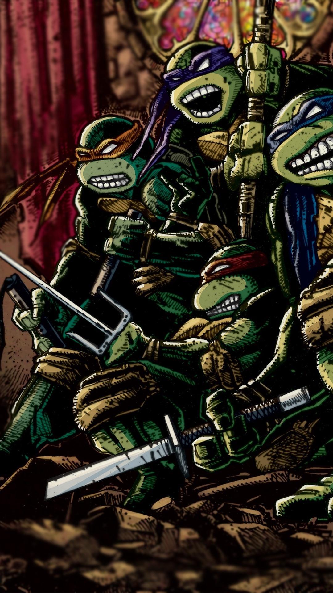 Teenage Mutant Ninja Turtles Wallpaper Iphone - HD Wallpaper