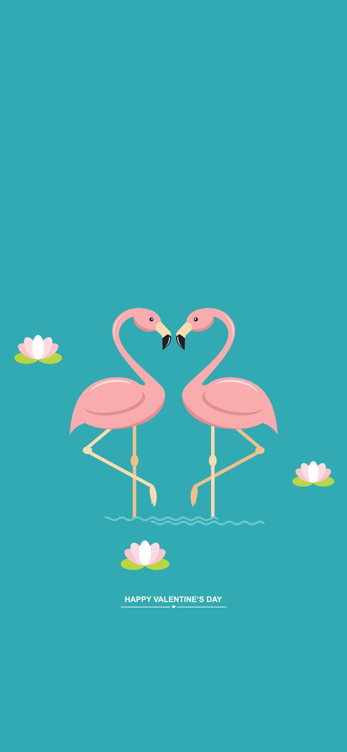 Flamingo Illustration 1125x2436 Wallpaper Teahub Io
