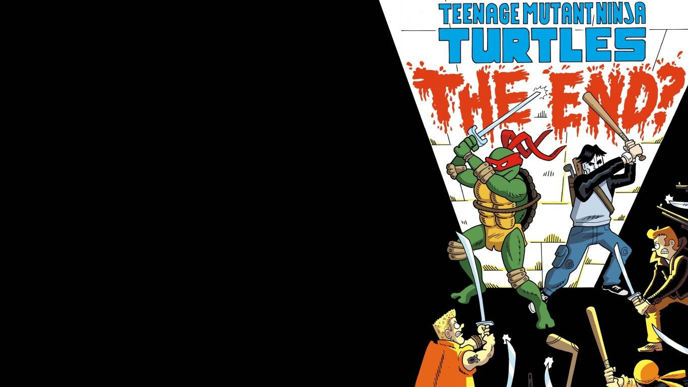 Free Download Teenage Mutant Ninja Turtles Wallpaper - Teenage Mutant Ninja Turtles Wallpaper 1366 - HD Wallpaper