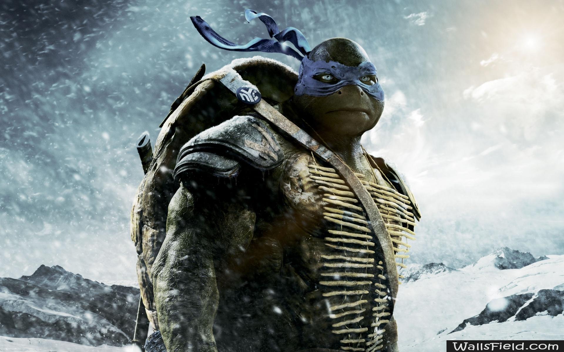 Leonardo Teenage Mutant Ninja Turtle Movie - HD Wallpaper