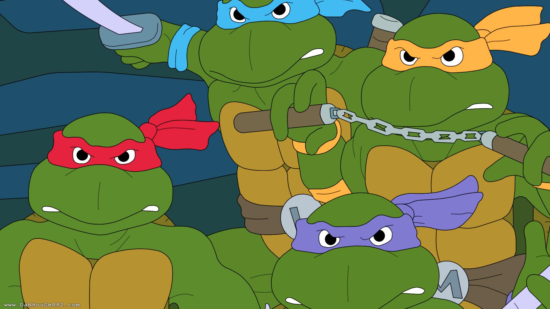 Teenage Mutant Ninja Turtles Wallpaper Cartoon Images - 80's Teenage Mutant Ninja Turtles 1980 - HD Wallpaper