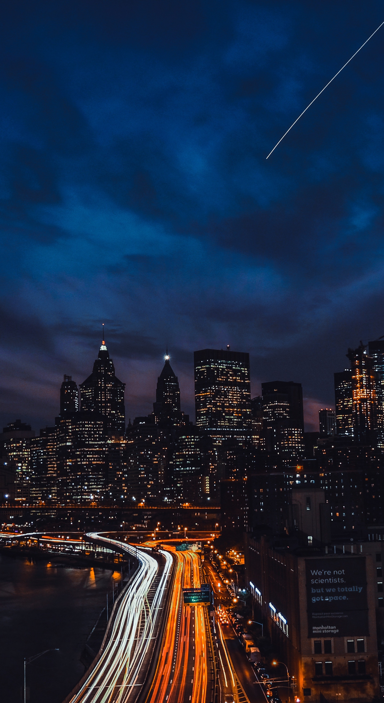 Nyc At Night For Mac, Ipad, Iphone, And Apple Watch - New York City Night - HD Wallpaper