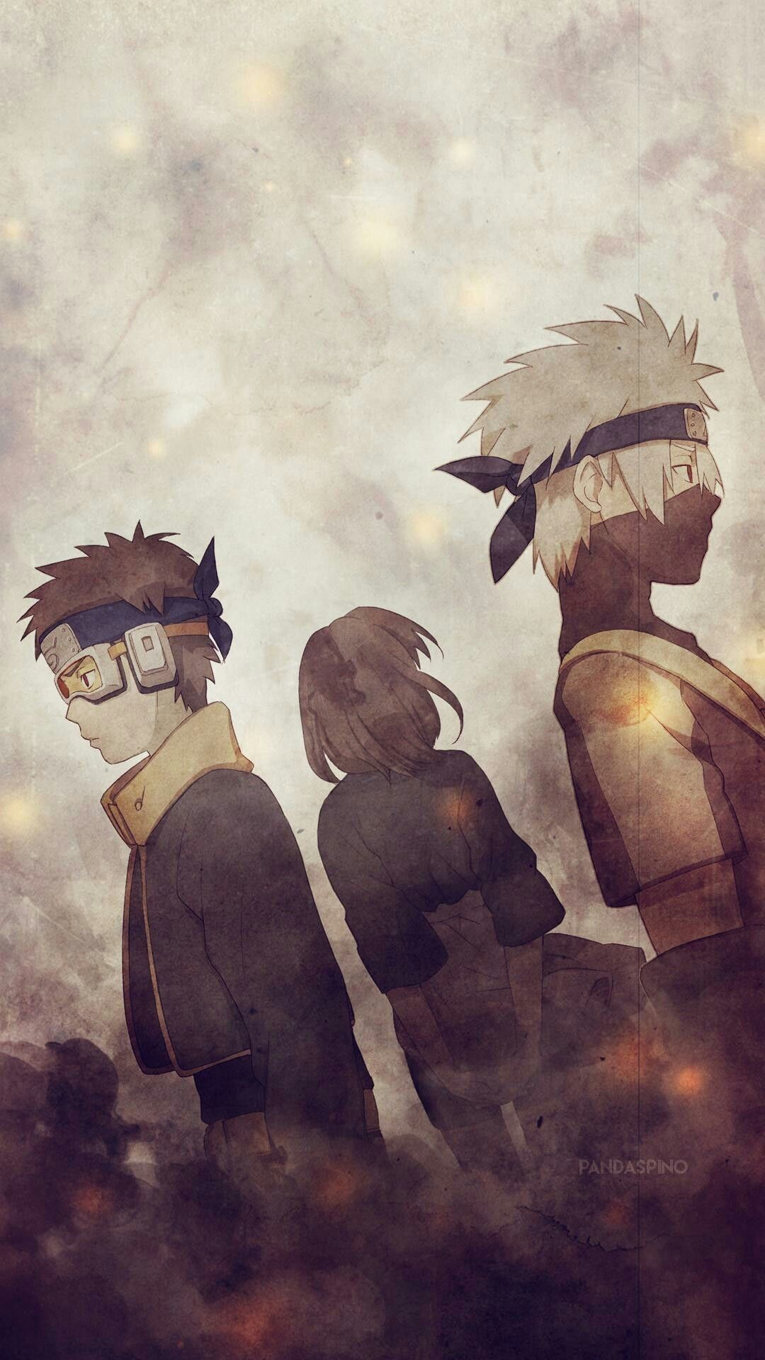 Obito And Kakashi Wallpaper Iphone 1080x1920 Wallpaper Teahub Io