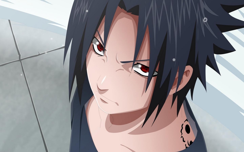 Wallpaper Uchiha Sasuke, Naruto Shippuden, Sharingan - Sasuke 4k - HD Wallpaper