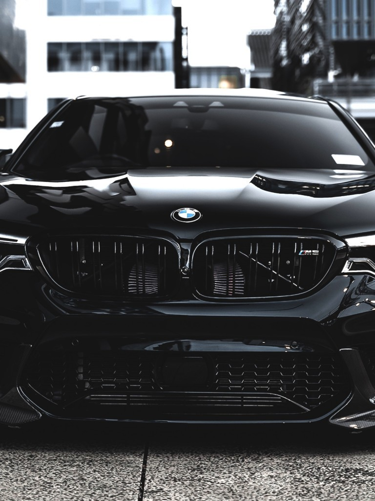 Bmw M5 Front View Luxury Cars Black Bmw M5 Wallpaper Hd 768x1024 Wallpaper Teahub Io