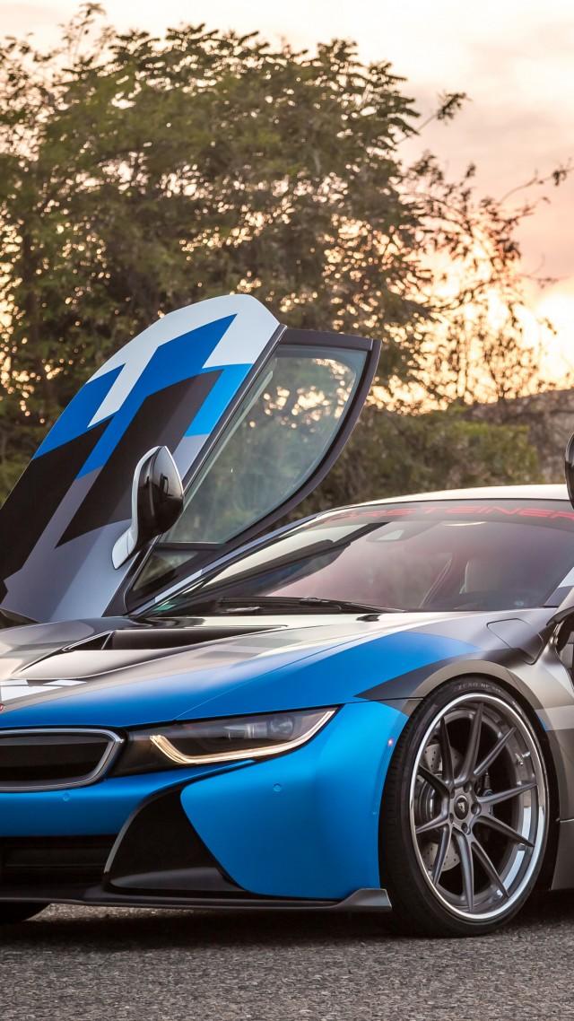 Vorsteiner Vr E Bmw I8 Supercar Sport Cars Blue Blue Bmw I8 Wallpaper Iphone 640x1138 Wallpaper Teahub Io
