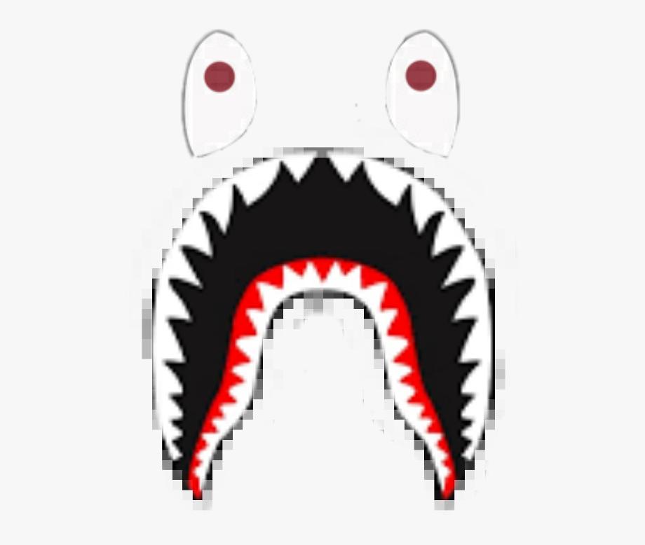 Bape Shark Logo Vector - Bape Shark Logo Png - HD Wallpaper
