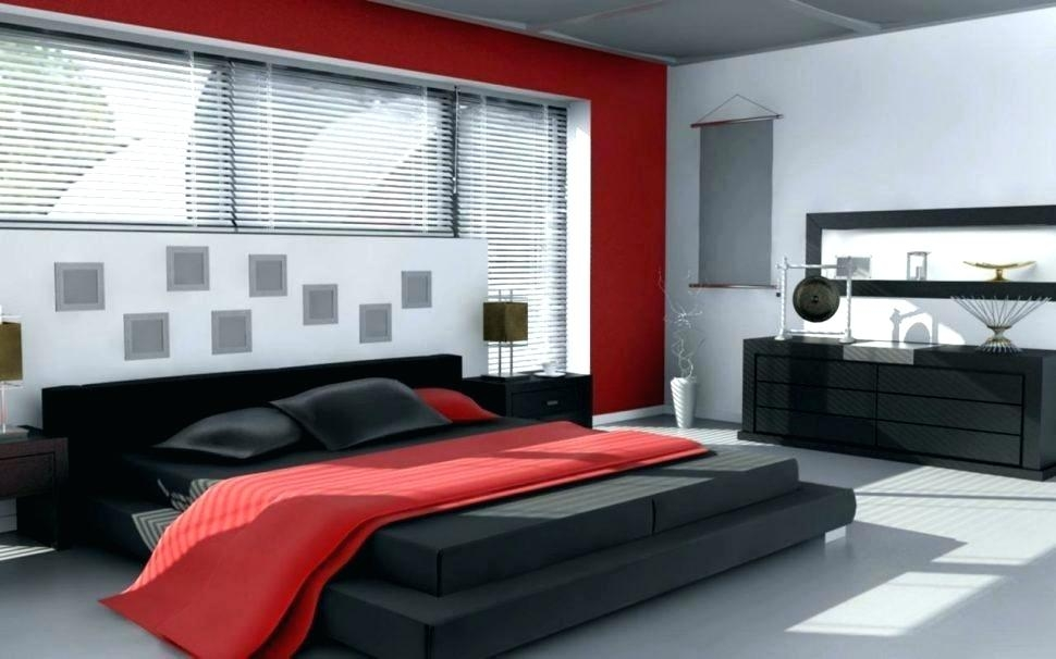 Red White Bedroom Black Wallpaper Decorating Ideas Black Red And White Bedroom 970x606 Wallpaper Teahub Io