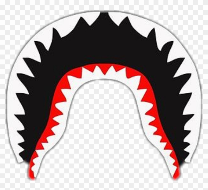 Bape Shark Logo Clip Art - Bape Shark Logo Png - HD Wallpaper