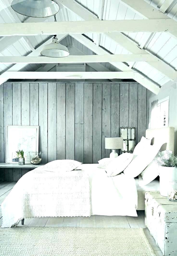 Grey Wallpaper For Bedroom Brick Wallpaper In Bedroom - Interior Gable Walls - HD Wallpaper