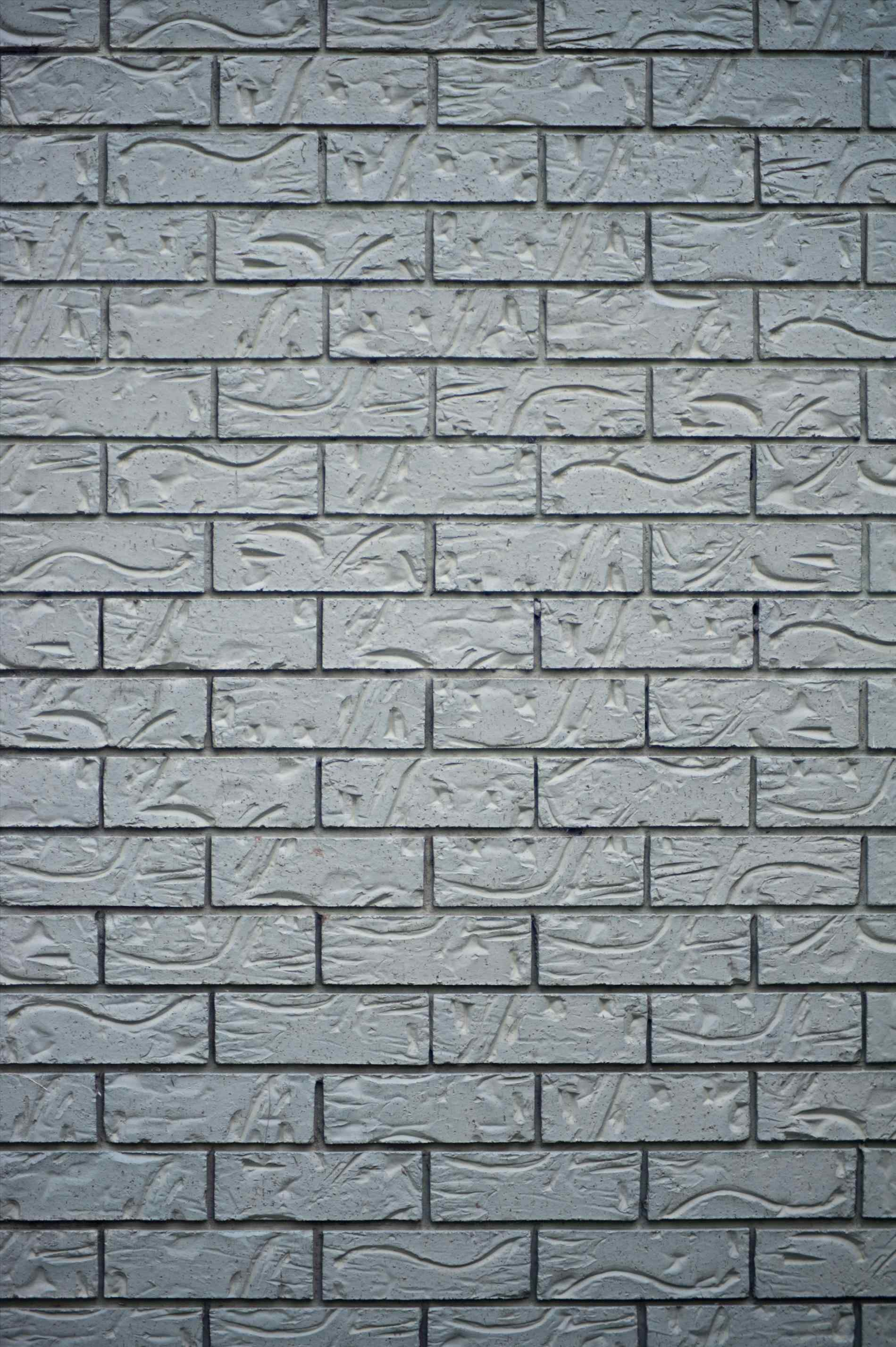 Brick Wall Pencil And In Color Background Great Icon - Vertical Brick Wall Background - HD Wallpaper