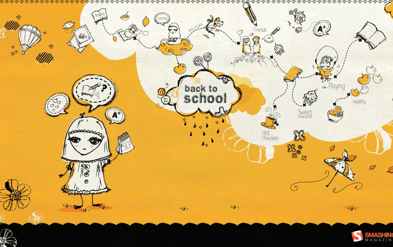 Back To School Wallpapers - Pc Back To School - HD Wallpaper