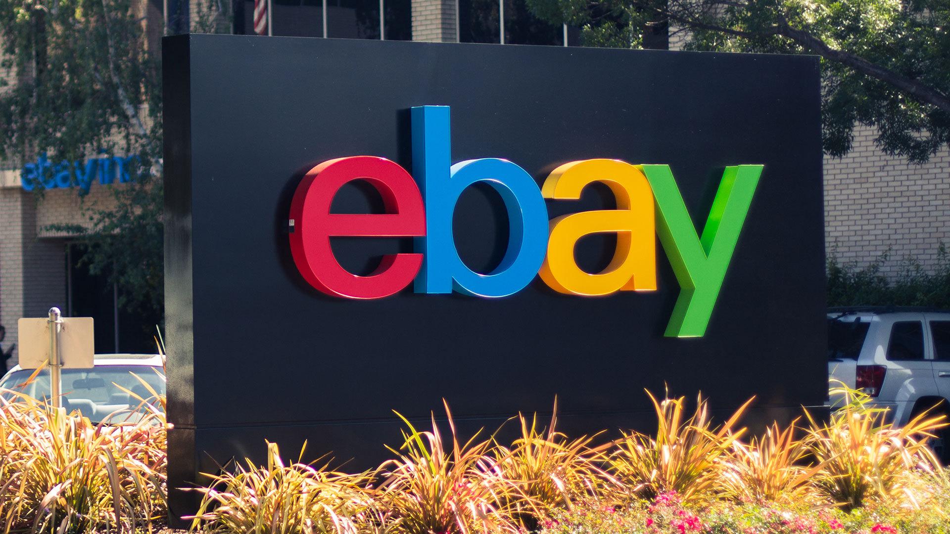 Ebay Wallpaper Ebay Logo Black Background 1920x1080 Wallpaper Teahub Io