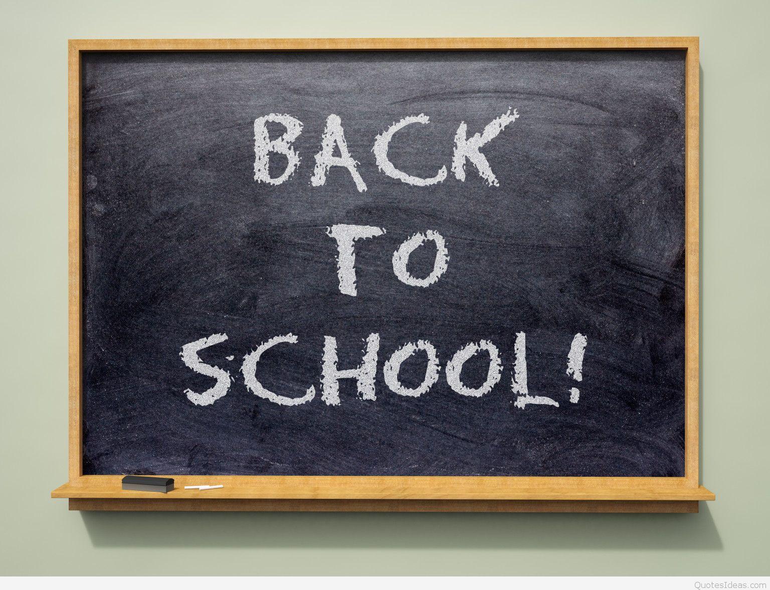 Back To School - School - HD Wallpaper